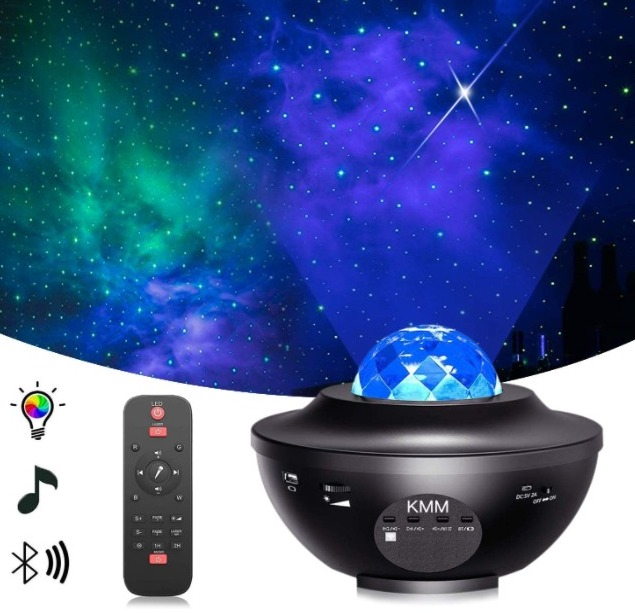 Star Projector Night Light Projector for $0.00 Shipped! (Reg. Price $46.99)