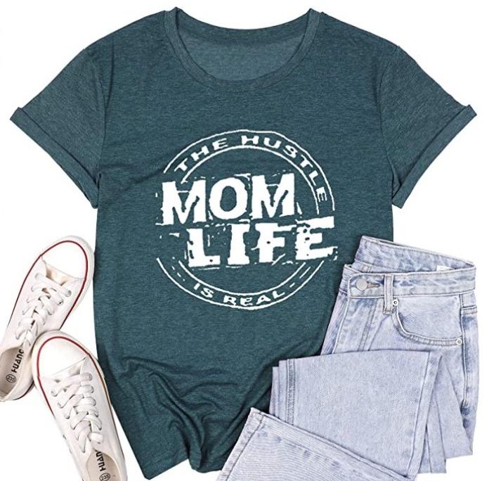Mom Life Hustle T Shirt for $11.99 Shipped! (Reg. Price $17.13)