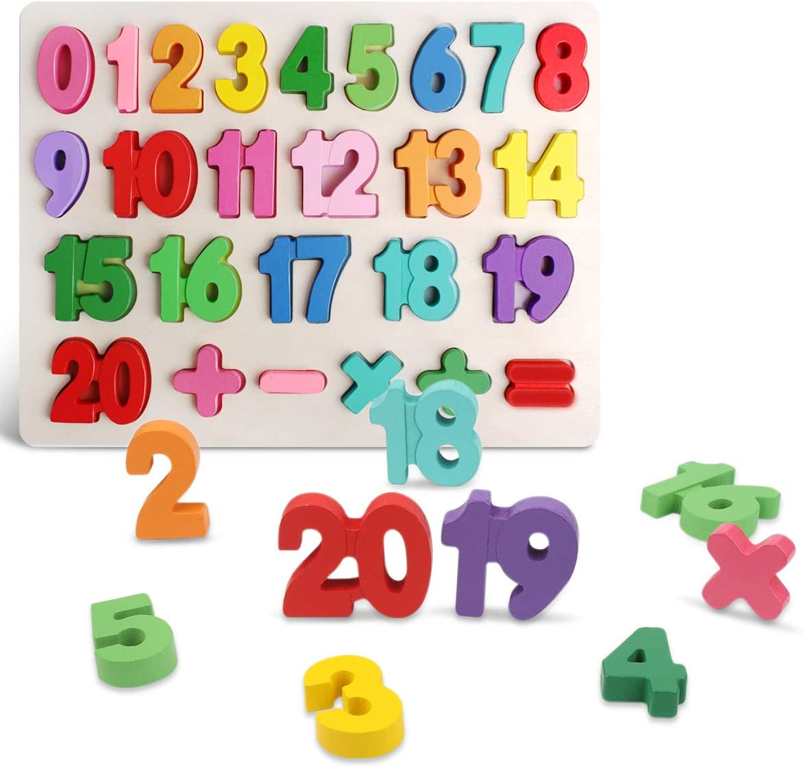 Kids Wooden Number Puzzles for $6.99 Shipped! (Reg.Price $13.99)