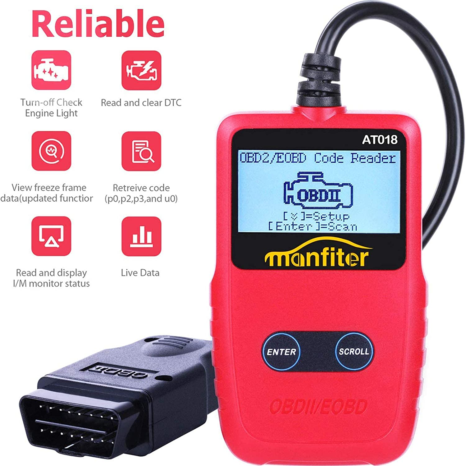 OBD2 Scanner for $12.48 Shipped! (Reg.Price $24.96)