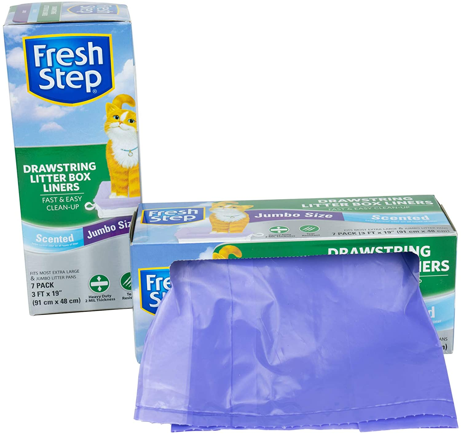 Fresh Step Drawstring Large Litter Box Liners for $5.48 Shipped! (Reg.Price $9.96)