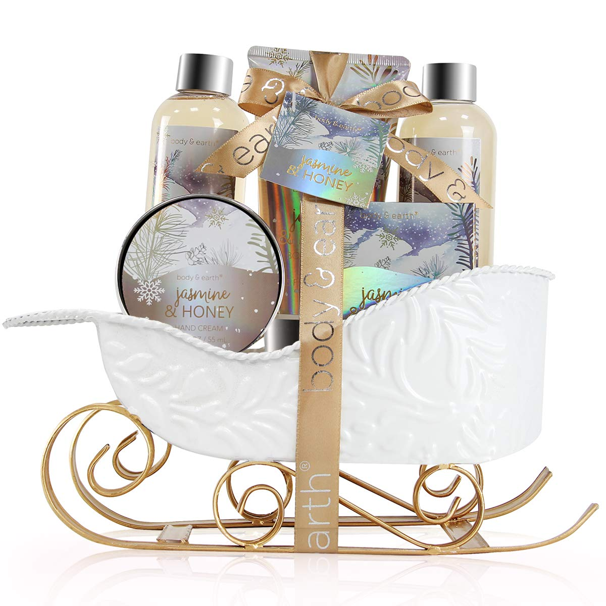 Body & Earth Women Gifts Spa Set with Jasmine & Honey Scent for $9.99 Shipped! (Reg.Price $19.99)