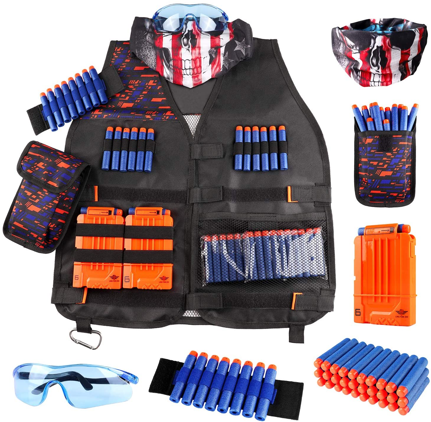 Kids Tactical Vest Kit for Nerf Guns N-Strike Elite Series with Refill Darts Dart Pouch for $9.99 Shipped! (Reg.Price $19.99)