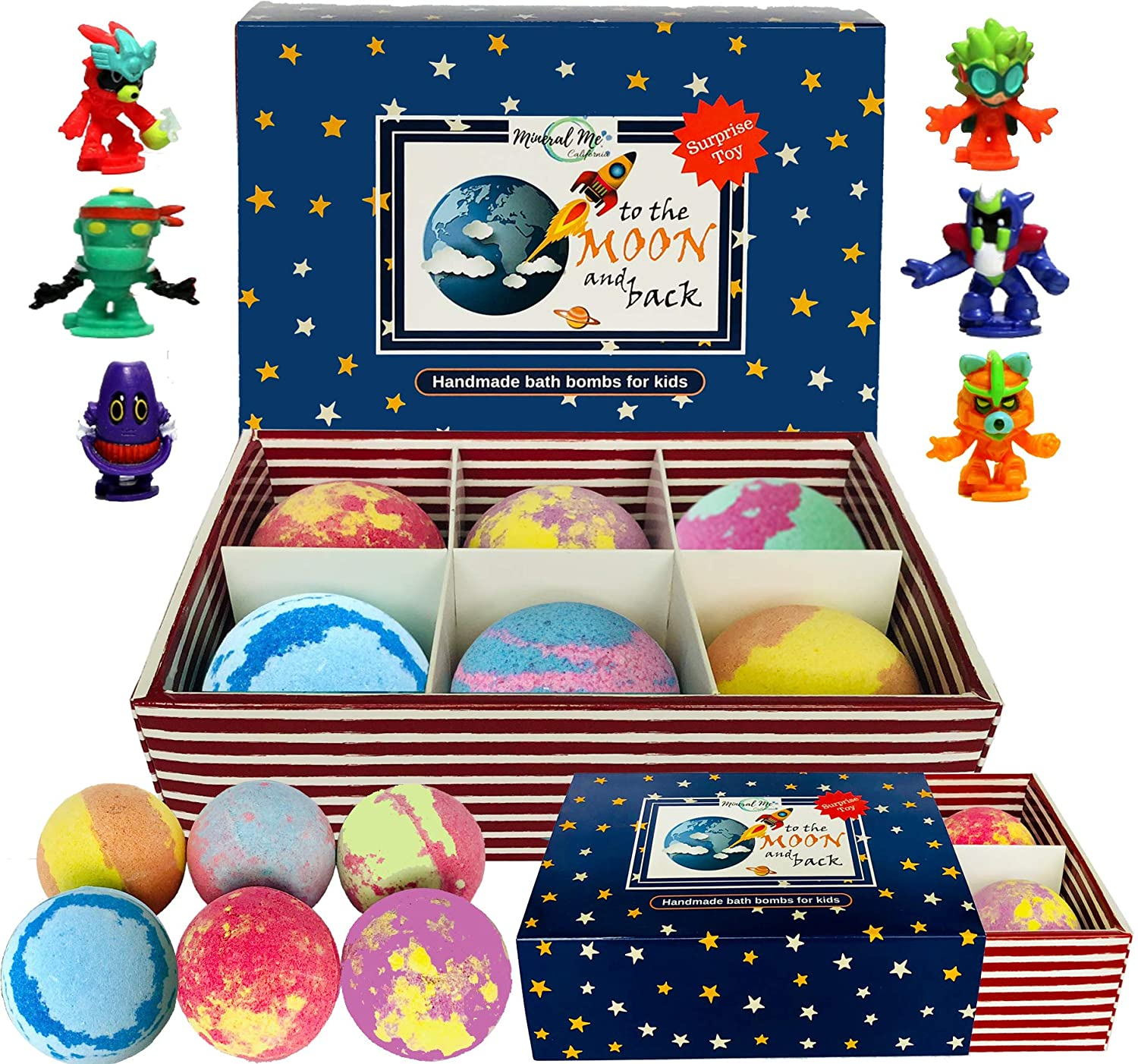 6 Pcs Bath Bombs for Kids with Toys Inside for $7.99 Shipped! (Reg.Price $19.99)