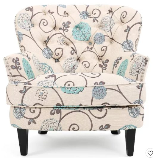 Christopher Knight Home Tafton Floral Club Accent Chair for $159.99 + Free Shipping! (Reg. Price $199.99)
