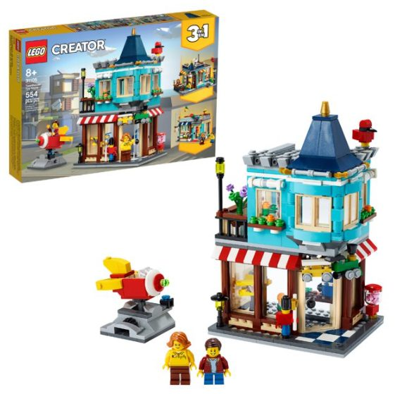 LEGO Creator 3in1 Townhouse Toy Store 31105 (554 Pieces) for $31.99 + Free Store Pickup! (Reg. Price $39.99)