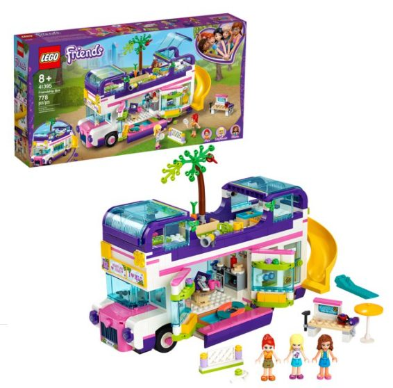 LEGO Friends Friendship Bus LEGO Heartlake City Toy Playset for $55.99 + Free Shipping! (Reg. Price $69.99)