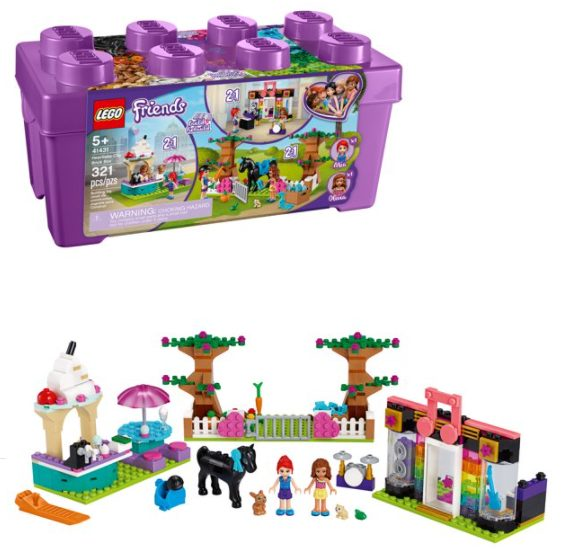 LEGO Friends Heartlake City Brick Box 41431 (321 Pieces) for $29.84 + Free Store Pickup! (Reg. Price $39.99)