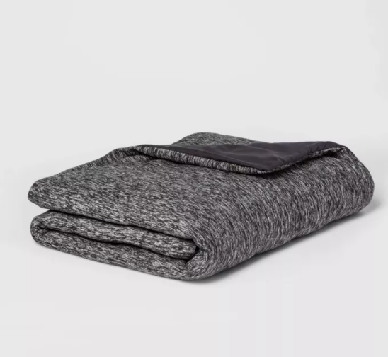 Room Essentials 50-i x 70-in Jersey Weighted Throw Blanket for $24.50 + Free Store Pickup! (Reg. Price $49.00)