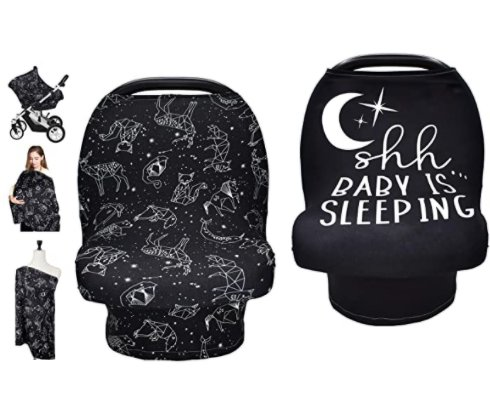 Baby Carseat Canopy, Nursing Cover for $6.99 Shipped! (Reg. Price $13.99)