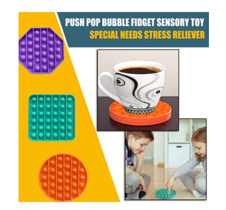 Add 2 to Cart* 6 Pack Sensory Squeeze Fidget Toy for $11.99 Shipped!