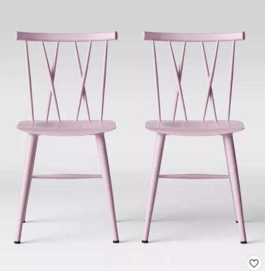 Set of 2 Project 62 Becket Metal X Back Dining Chair for $60.50 + Free Shipping! (Reg. Price $110.00)