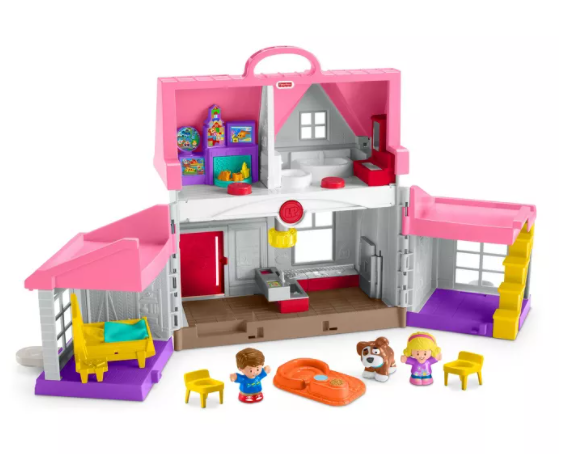 Fisher-Price Little People Big Helpers Home – Pink for $19.99 + Free Store Pickup! (Reg. Price $39.99)