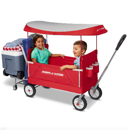 3-in-1 Tailgater Wagon with Canopy for $98.00 + Free Shipping! (Reg. Price $129.99)