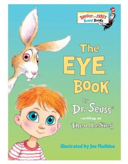 Theo Lesieg Eye Book (Board Book) for $2.98 + Free Store Pickup! (Reg. Price $4.99)