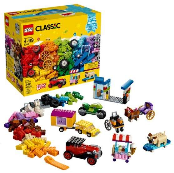LEGO Classic Bricks on a Roll 10715 (442 Pieces) for $25.00 + Free Store Pickup! (Reg. Price $29.99)
