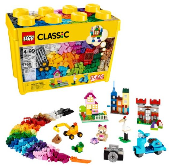 LEGO Classic Large Creative Brick Box 10698 Building Toy (790 pcs) for $43.99 + Free Shipping! (Reg. Price $59.99)