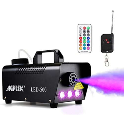 Automatic Spray Fog Machine with Colorful LED Light Effect for $35.04 Shipped! (Reg. Price $52.99)