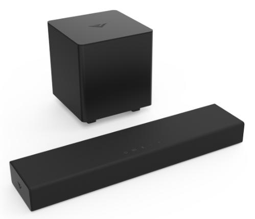 VIZIO 20″ 2.1 Sound Bar for $115.00 + Free Shipping! (Reg. Price $128.00)