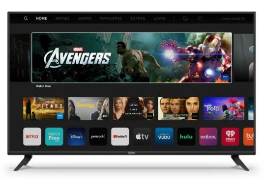 VIZIO 50″ Class 4K UHD LED SmartCast Smart TV V-Series V505-G/H for $289.88 + Free Shipping! (Reg. Price $328.00)