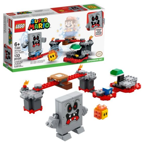 LEGO Super Mario Whomp's Lava Trouble Expansion Set 71364 (133 Pieces) for $16.00 + Free Store Pickup! (Reg. Price $19.99)