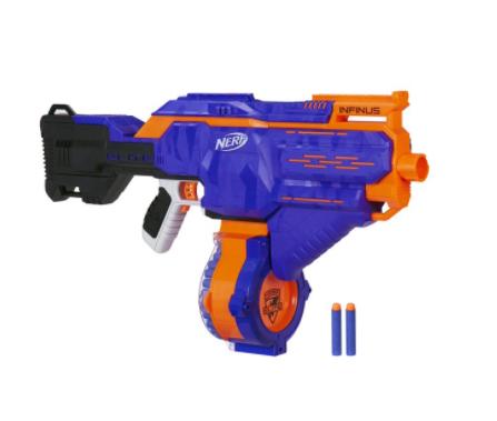 Nerf N-strike Elite Infinus for $43.46 + Free Shipping (Reg. Price $69.99)