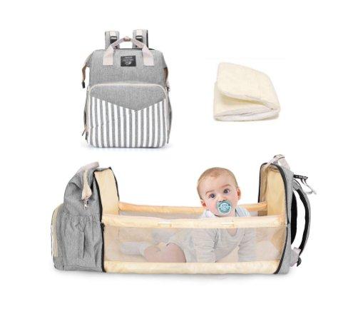 Portable Diaper Bag Backpack for $16.19 Shipped! (Reg. Price $35.99)