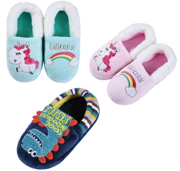 Kids Warm House Slippers for $9.99 Shipped! (Reg. Price $19.99)