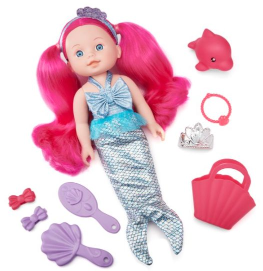 Kid Connection Mermaid Baby Doll Play Set, 12 Pieces Included for $6.98 + Free Store Pickup! (Reg. Price $9.97)