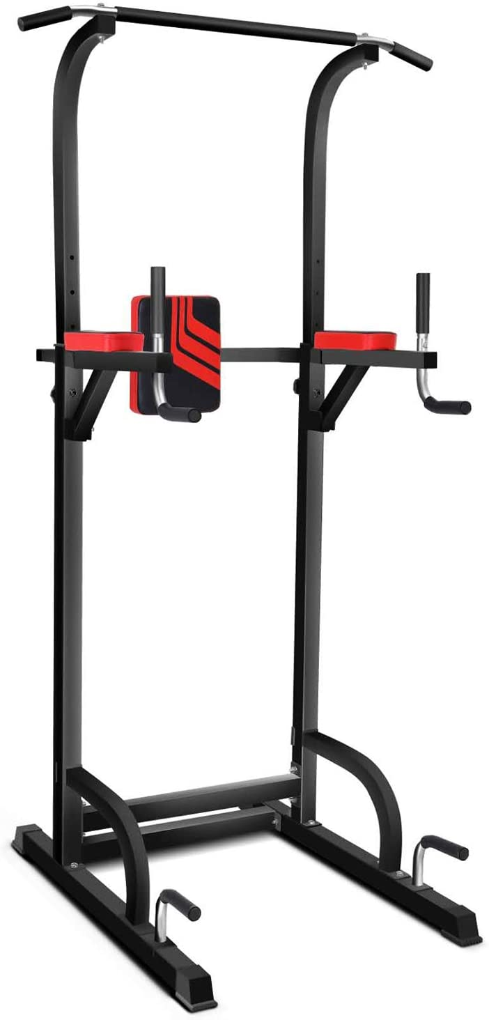 MAGIC FIT Power Tower Multi-Function Workout Dip Station for $84.99 Shipped! (Reg.Price $149.99)