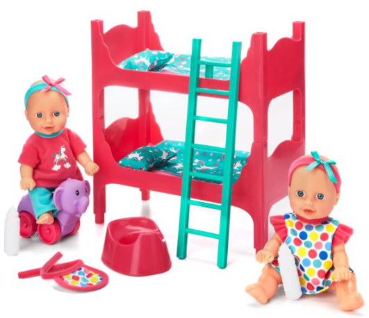 Kid Connection Baby Room Play Set, 22 Pieces Included for $10.48 + Free Store Pickup! (Reg. Price $14.97)