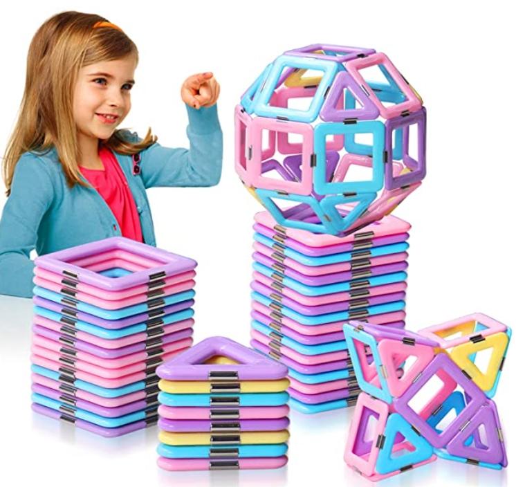 42 Pcs 3D STEM Magnetic Tiles Blocks for $15.94 Shipped! (Reg. Price $28.99)