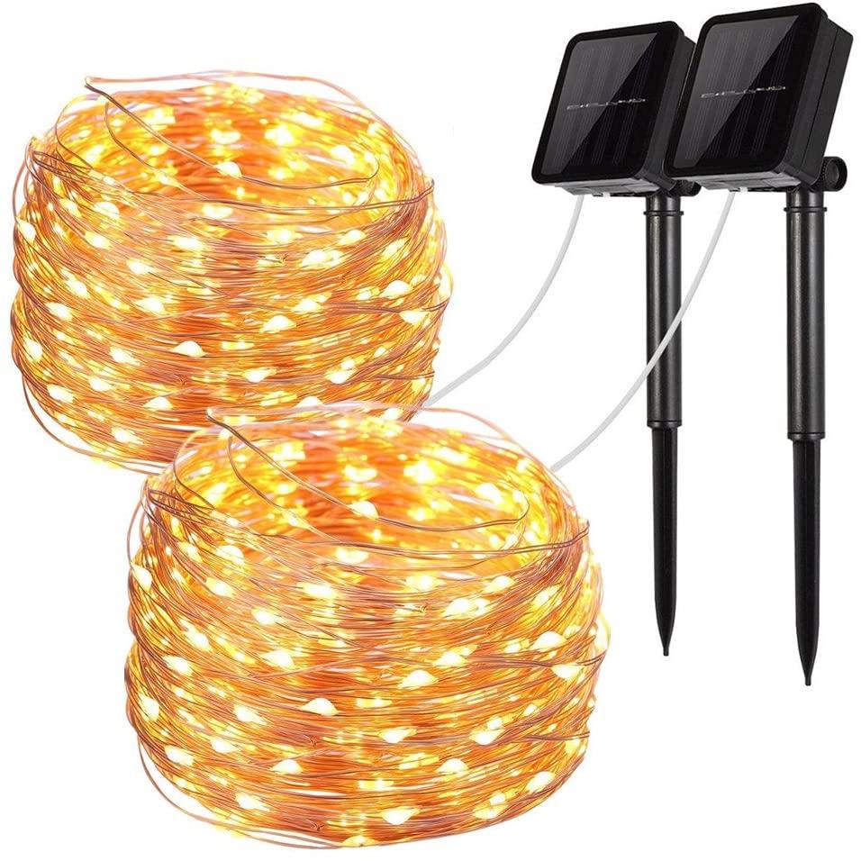 2 Pack Solar String Lights for $7.99 Shipped! (Reg.Price $15.99)