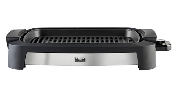 Bella – Pro Series Indoor Smokeless Grill for $29.99 + Free Store Pickup! (Reg. Price $49.99)