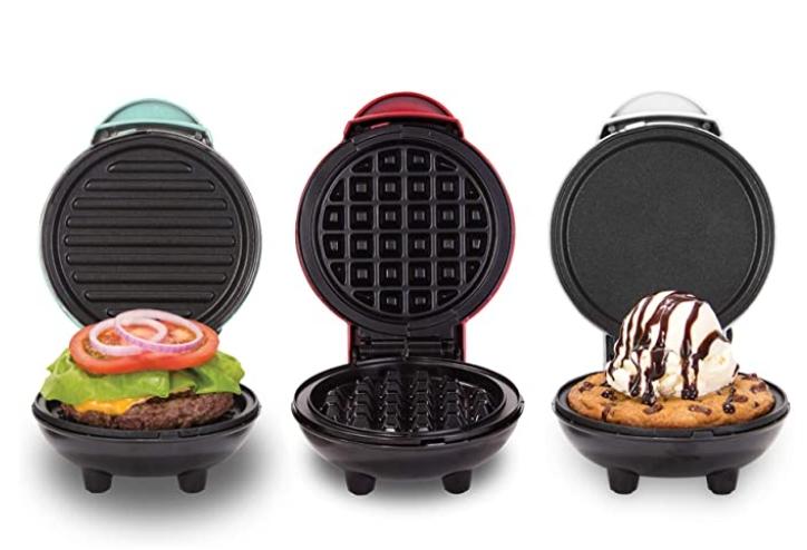 3 Pack Dash Mini Maker Grill + Waffle Maker for $19.98 Shipped! (Reg. Price $29.99)